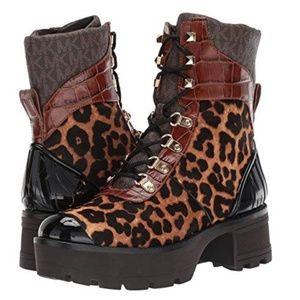 Michael Kors Khloe Hiking Combat boot